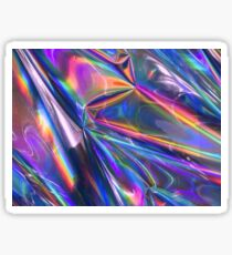 Holographic Material Sticker