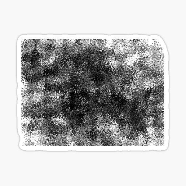 Spray/paint design - black Sticker