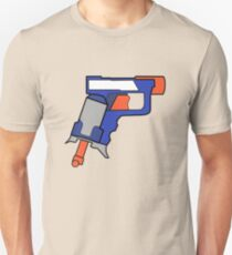 Nerf Gun Blasters Mens T-Shirt - Tag Youre It! Nerf Bullet Image on