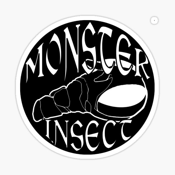 Monster Insect (Metal Punk theme) Sticker