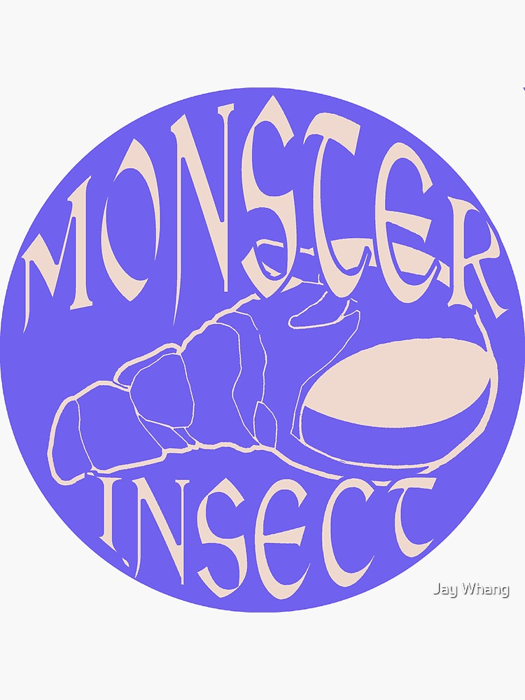 Monster Insect (Pastel Color theme 1) by Jay-Whang-Arts