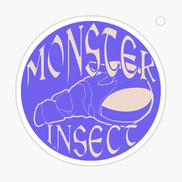 Monster Insect (Pastel Color theme 1) Sticker