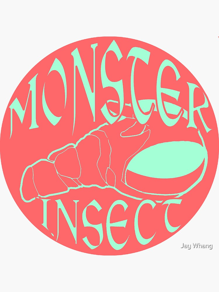 Monster Insect (Pastel Color theme 3) by Jay-Whang-Arts