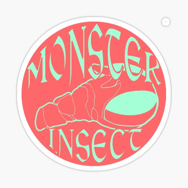 Monster Insect (Pastel Color theme 3) Sticker