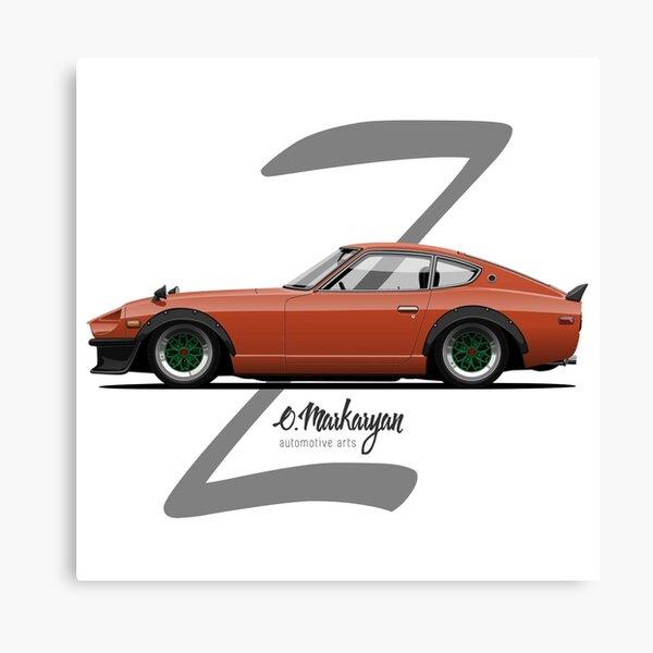 280Z (orange) Canvas Print