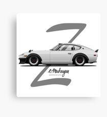 280Z (white) Canvas Print