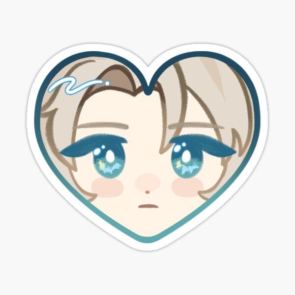 Albedo ♥ Genshin Impact Heart Sticker