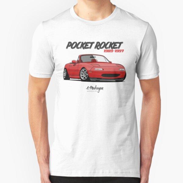 MX-5 Miata (red) Slim Fit T-Shirt