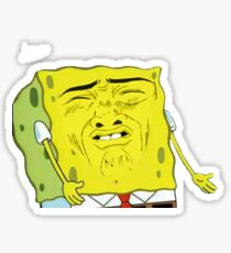Why Spongebob Why!? Sticker