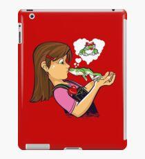 frog prince princess kiss  iPad Case/Skin