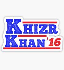 Khazr Khan - Support Gold Star Families Sticker