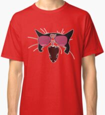 Cat with Pink Aviators Classic T-Shirt