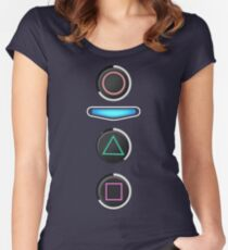 Until Dawn - Quicktimeevents  Women's Fitted Scoop T-Shirt