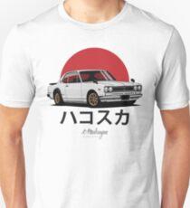 Skyline GT-R hakosuka (white) Unisex T-Shirt