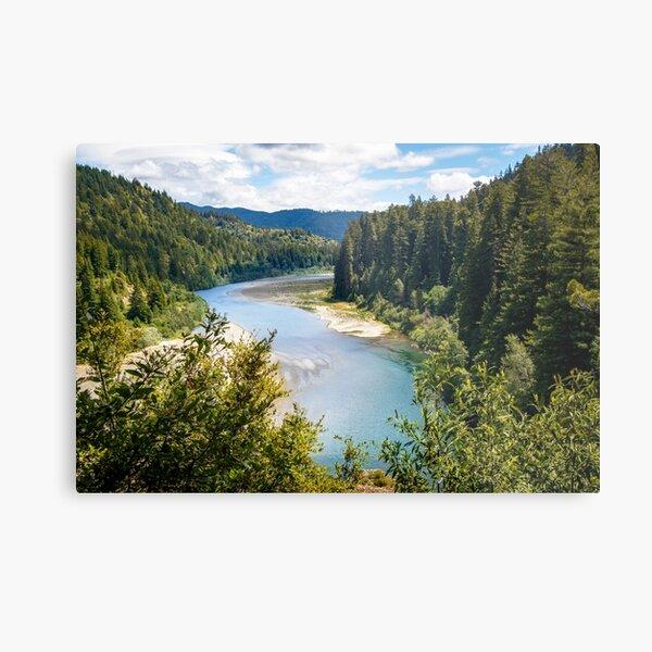 Eel River in Humboldt County Metal Print