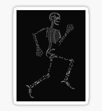 Body Bones  Sticker