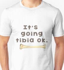 Tibia Bone Pun  T-Shirt