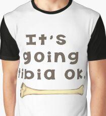 Tibia Bone Pun  Graphic T-Shirt