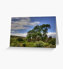 Pendragon Castle View Greeting Card