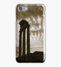 The Vestal Temple in the Roman Forum iPhone Case/Skin