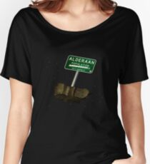 Welcome to Alderaan Women's Relaxed Fit T-Shirt