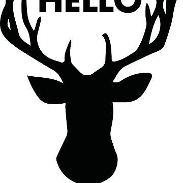 Hello my deer by acgraphism