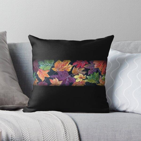 Colours of Autumn - Nature Throw Pillow