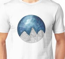 Geometric Mountains Unisex T-Shirt