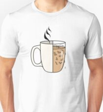 Hot Coffee | Iced Coffee Unisex T-Shirt