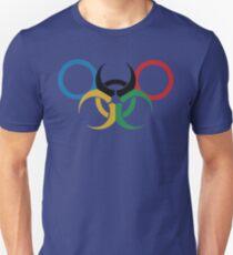 2016 Rio Games Bio Hazard Funny Parody  T Shirt Unisex T-Shirt
