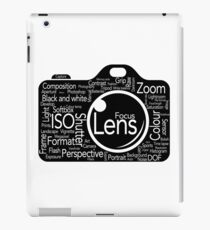 Photographers Vocab iPad Case/Skin