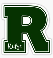 Ridge High School R Sticker