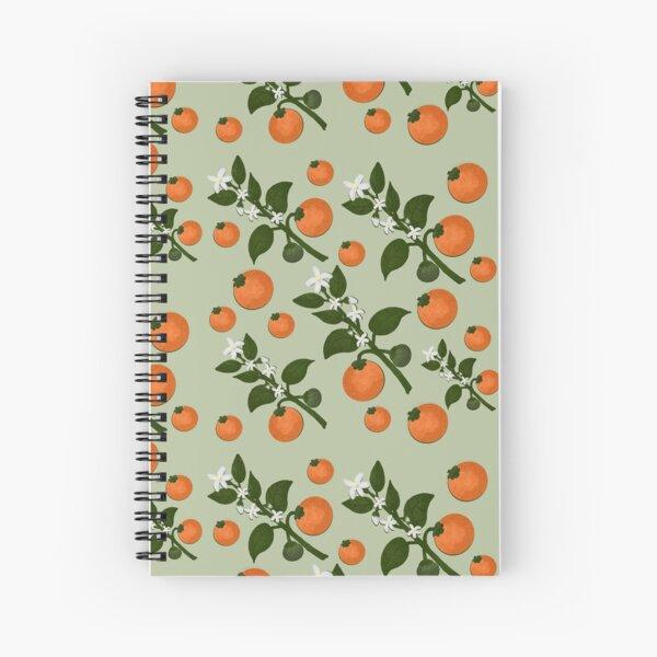 Marmalade Spiral Notebook