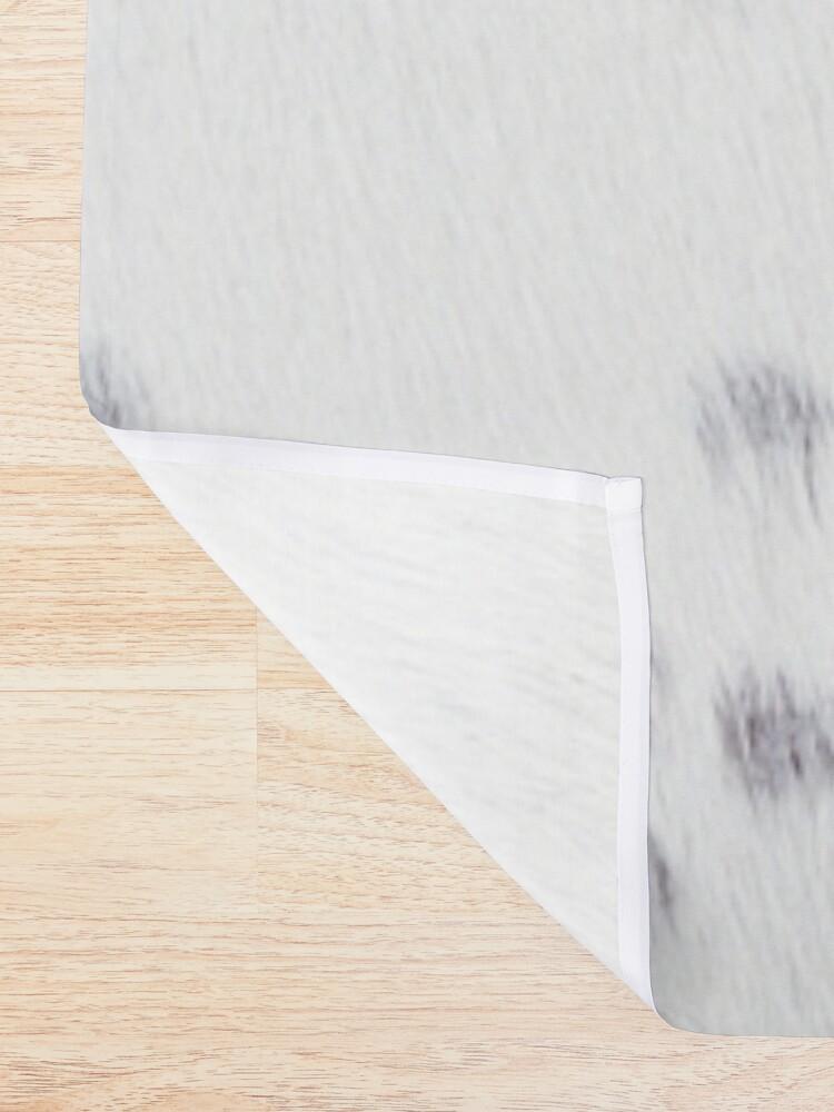 Alternate view of Wanderlust Cow Art Shower Curtain