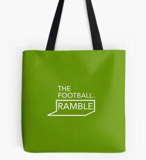 Ramble logo white on green – bag Tote Bag