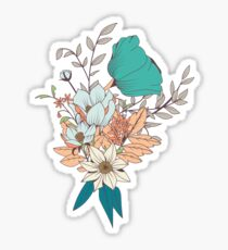 Botanical pattern 003 Sticker