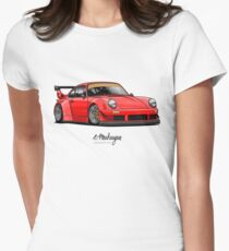 RWB (red) Women's Fitted T-Shirt