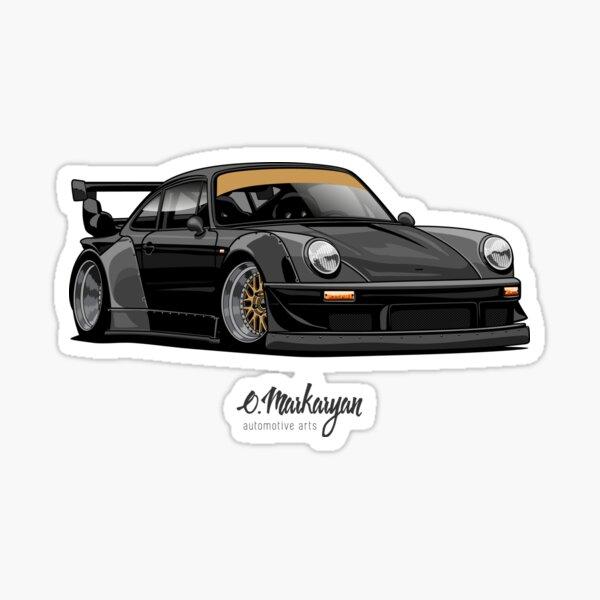 RWB (black) Sticker