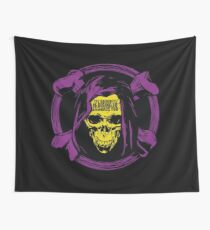 The Darkness is Rising to Embrace You Wall Tapestry