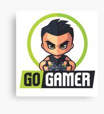 Gamers Unite! Go Gamers! Canvas Print
