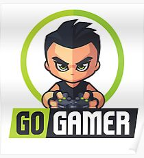 Gamers Unite! Go Gamers! Poster