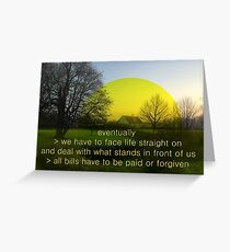 Mundy quote #10 Greeting Card