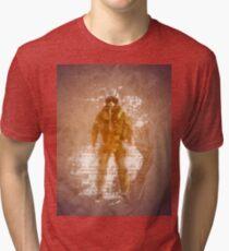 FIghter Pilot Art Tri-blend T-Shirt
