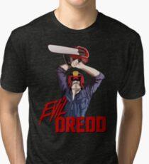 Evil Dredd Tri-blend T-Shirt