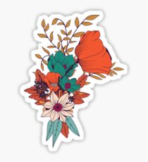 Botanical pattern 010 Sticker