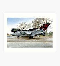 Panavia Tornado GR.4 ZA412 617 Sqn Art Print