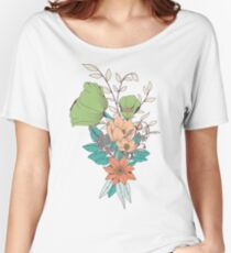 Botanical pattern 012 Women's Relaxed Fit T-Shirt