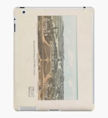 Vintage Ottawa Government Buildings Map (1865) iPad Case/Skin