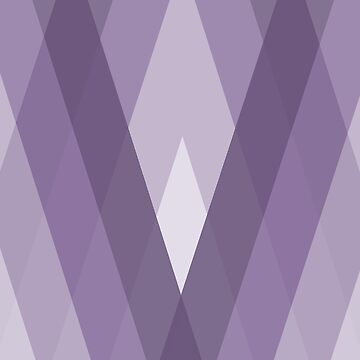 Modern Harlequin Pattern in Purple by ArtformDesigns
