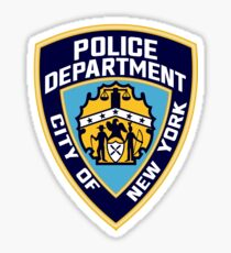 Patch of The New York City Police Department Sticker